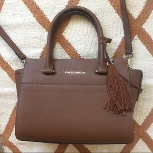 NEW Vince Camuto Leather Satchels